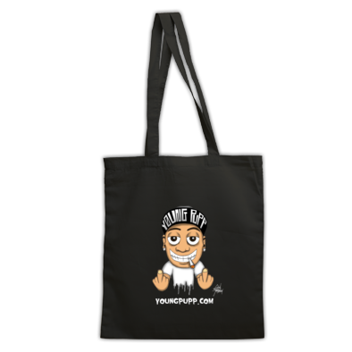 Full Color Young Pupp Tote Bag