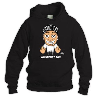 Full Color Young Pupp Hoodies