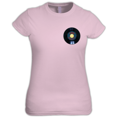 Women's Tee A-Side Players Color Logo