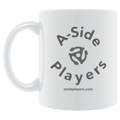 Mug A-Side Grey Logo