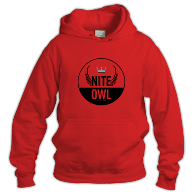 Nite Owl Hoodie Round Logo