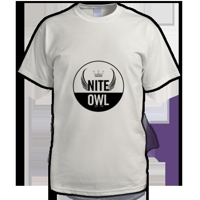 Nite Owl Round Logo Men's T-Shirt