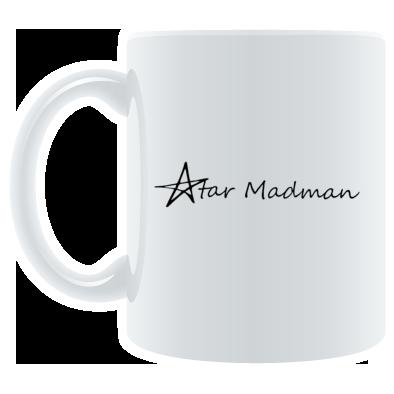 Star Madman Name Logo Coffee Mug