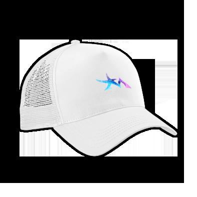 Star Madman Pink/Blue Symbol Logo Baseball Cap