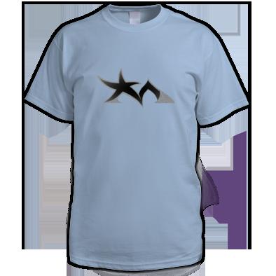 Star Madman Black/Silver Symbol Logo Men's T-Shirt
