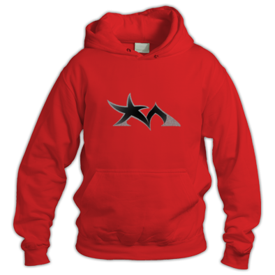 Star Madman Black/Silver Symbol Logo Hoodie