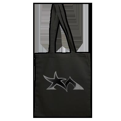 Star Madman Black/Silver Symbol Logo Tote Bag