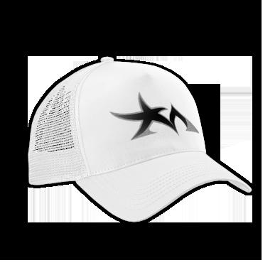 Star Madman Black/Silver Symbol Logo Baseball Cap