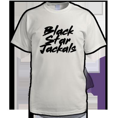 Black Star Jackals text black