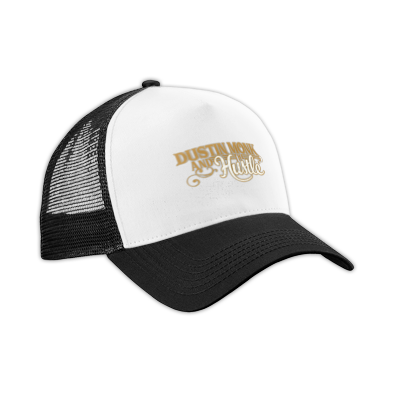Hat- Dustin Monk and the Hustle Logo Gold