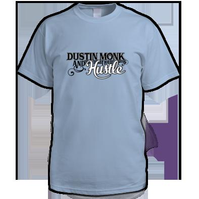 Men's T-shirt Dustin Monk and the Hustle Logo
