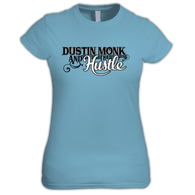 Dustin Monk and the Hustle logo