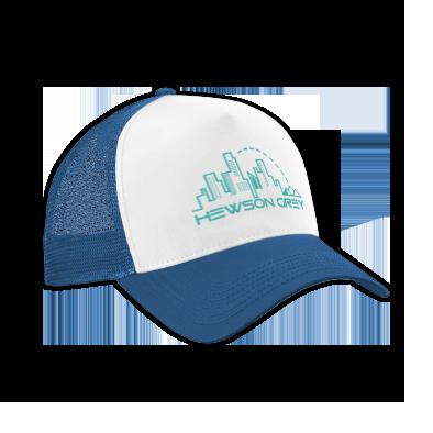 Blue HG Cityscape Logo