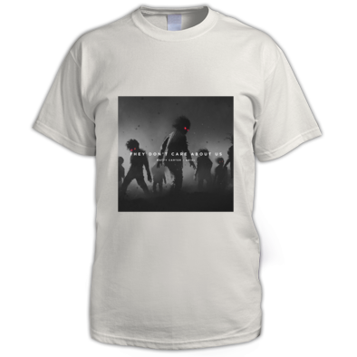 They Don't Care About Us official album art t-shirt
