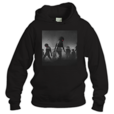 They Don't Care About Us official album art hoodie