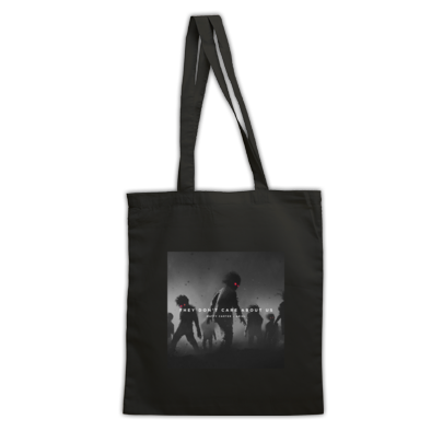 They Don't Care About Us official album art tote
