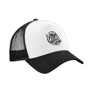 B/W Emblem Hat