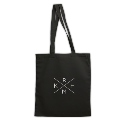 Rkham White X Tote Bag