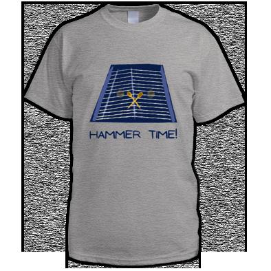 Hammer Time Blue Design