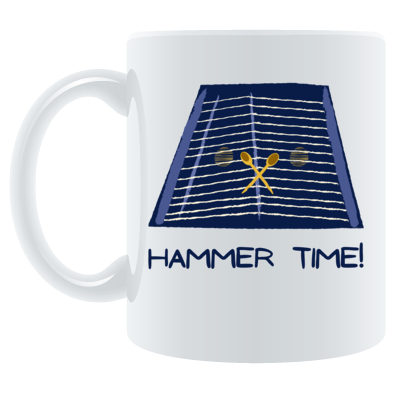 Hammer Time Blue Mug