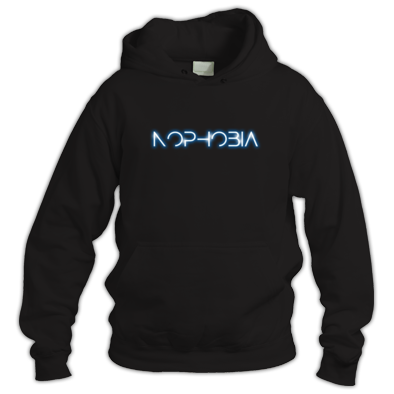 Hoodie with logo 'glow'