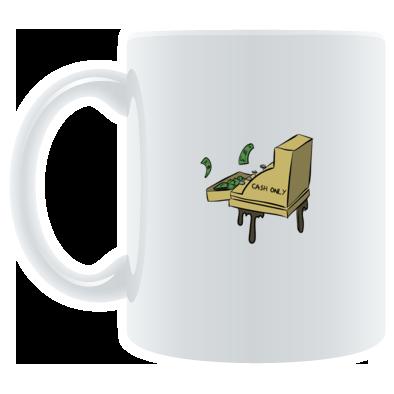 CA$H ONLY COFFEE MUG