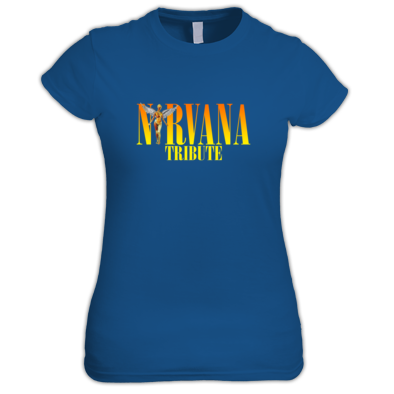 Nirvana Tribute Fitted T-shirt
