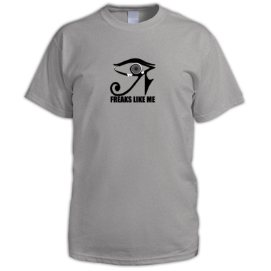 FLM Eye Logo  Fitted T-shirt