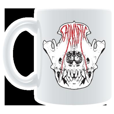 White Skull Logo