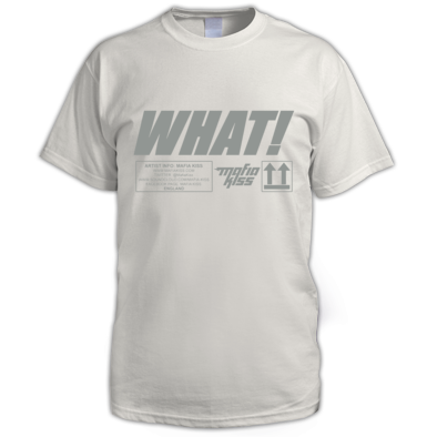 WHAT! T-Shirt Mens