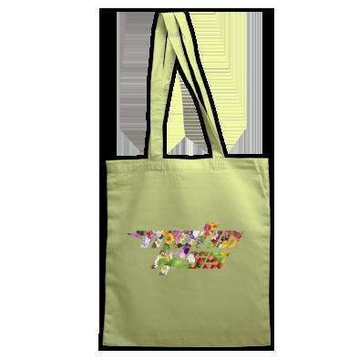 Flowers Logo Tote Bag