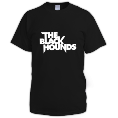 The Black Hounds text T-shirt