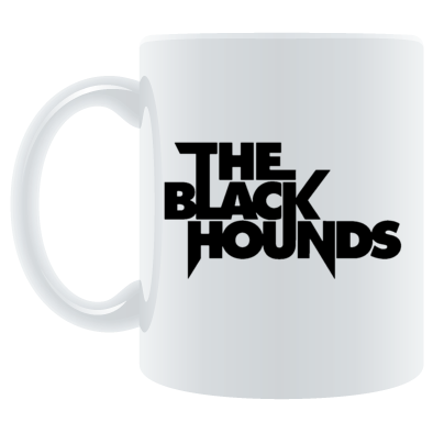 The Black Hounds text Mug