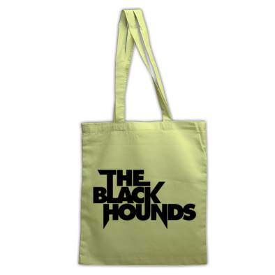 The Black Hounds text Tote Bag