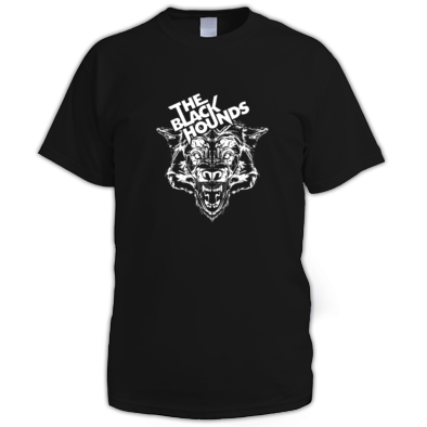 The Black Hounds head T-shirt
