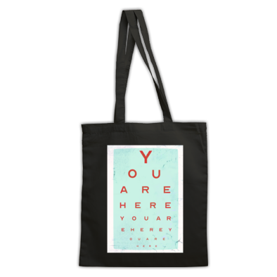 You Are Here tote