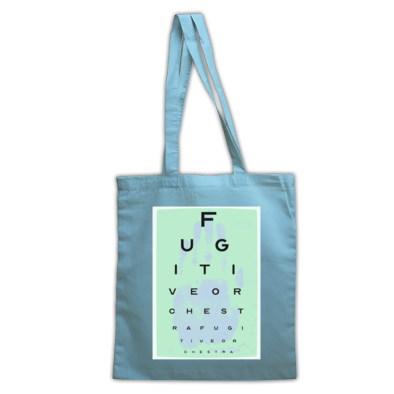 Handprint Eye-Test tote