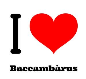 I love BACCAMBA'RUS