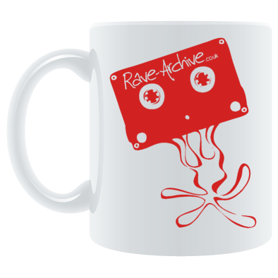Rave Archive Color Logo Mug Available in 5 different varieties)