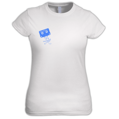Rave Archive Women's Color Chest Logo T-Shirt Available in 39 varieties.