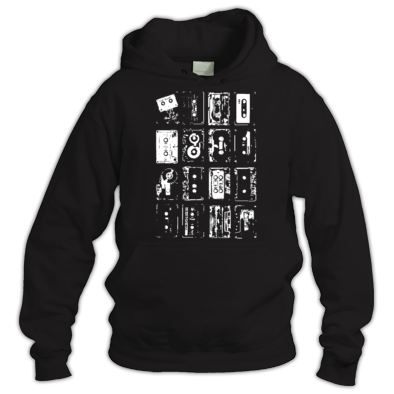 Rave Archive Retro Tapes Hoodie.