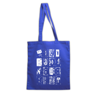 Rave Archive Retro Tapes Tote bags Available in 40 colour varieties.