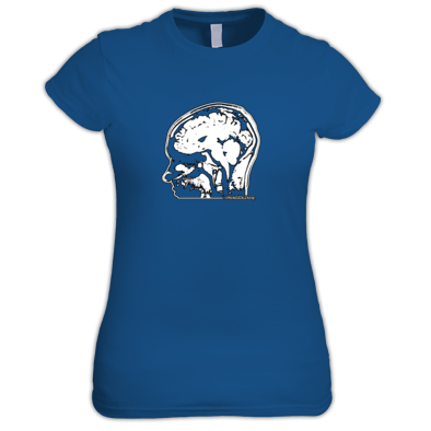 JLA Brain Tee for LADIES!