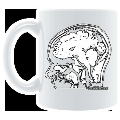 JLA Brain MUG---CHUG CHUG CHUG