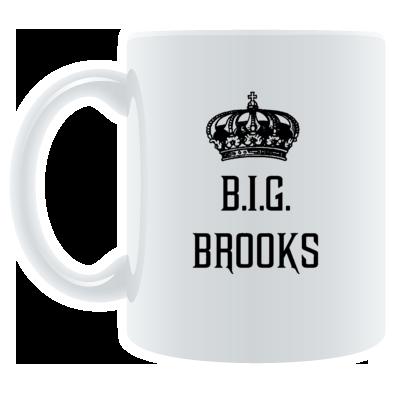 B.I.G. BROOKS®️ Logo Mug