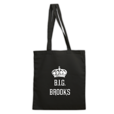 B.I.G. BROOKS®️ Logo Tote Bag
