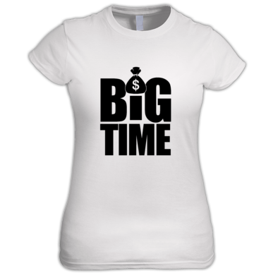 B.I.G. BROOKS®️ BIG TIME™️ Women's Tee