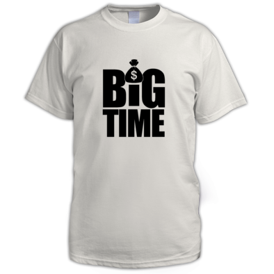 B.I.G. BROOKS®️ BIG TIME™️ Men's Tee