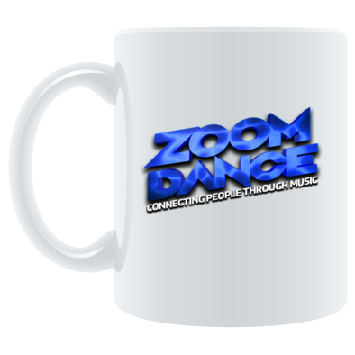 Zoom Dance Blue Logo Mug