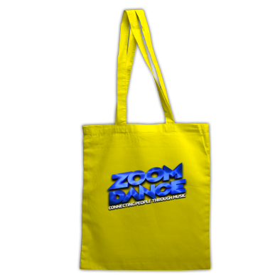 Zoom Dance Blue Logo Tote Bag